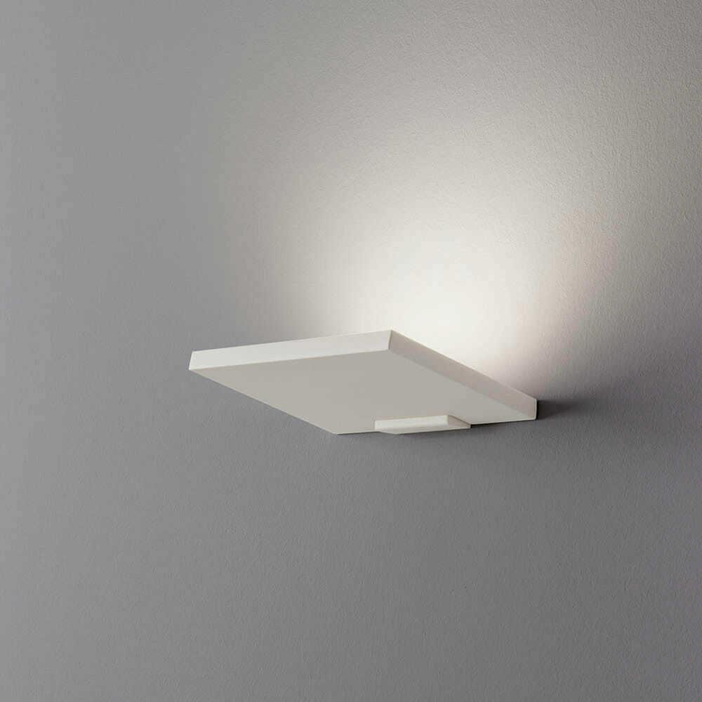 Lampada led applique parete lisa elegante con for Lampada led interno