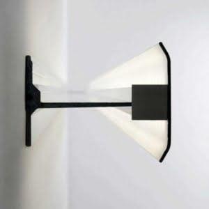 Lampada led parete mensola luminosa ESPO 2x17 Watt