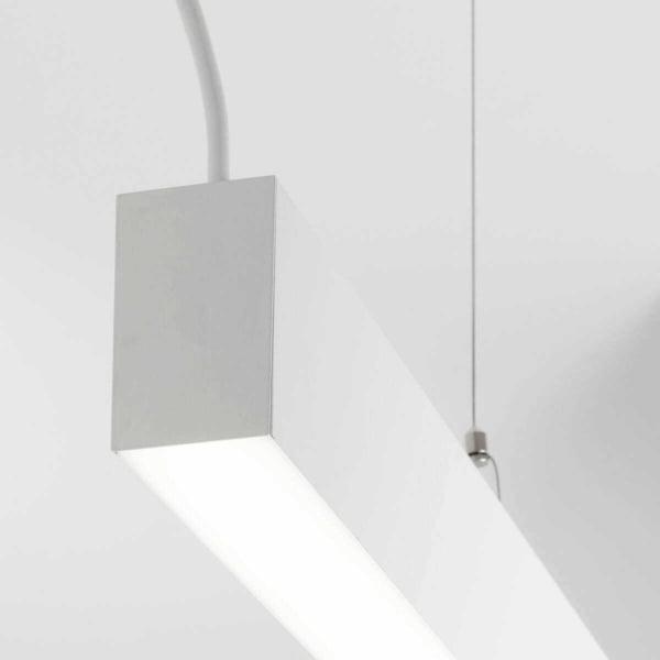 Sistema illuminazione sospesa led