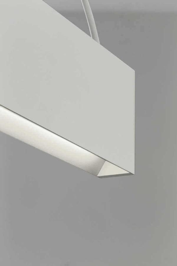 Lampada led sospensione 2x50watt 3000kelvin