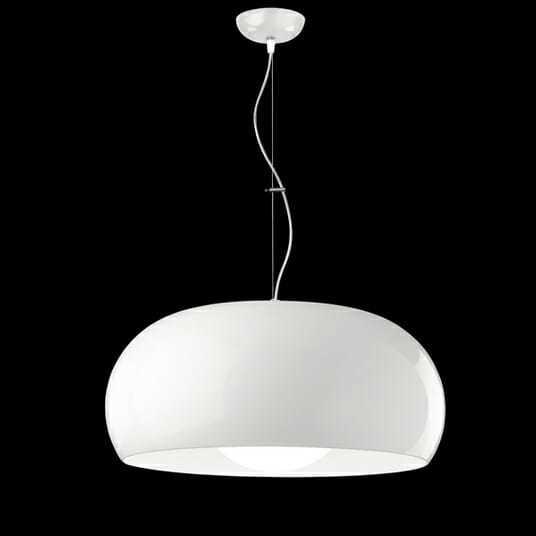 Lampadario metalspot balun sospensione design bianca - Lampadari a sospensione ikea ...