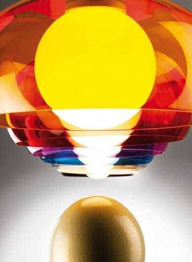Lampadario moderno balun metalspot