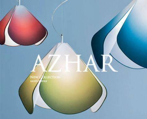 Lampada tessuto design Azhar di CaBelli luce sospensione moderna