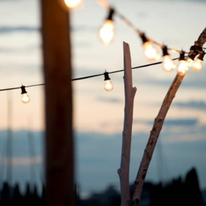 Catenaria di lampadine