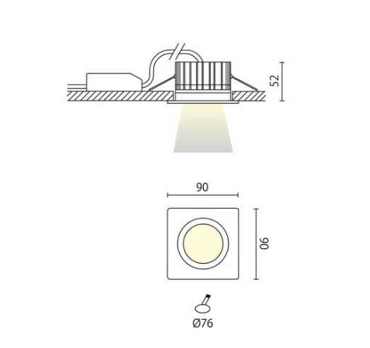 Faretti Per Doccia Ip: Illuminazione per esterni.