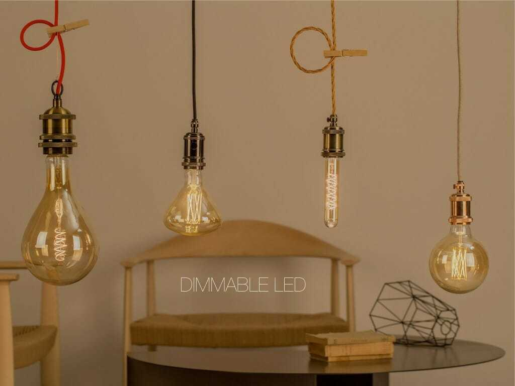 Lampadine led filamento dimmerabili in vari formati anche for Lampadine a led online