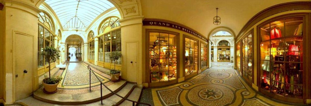 I primi negozi con vetrina e illuminazione