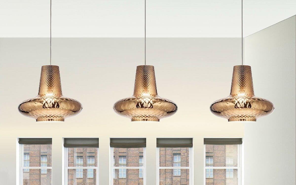 Ailati illuminazione lampade moderne led in vetro soffiato e policarbonato