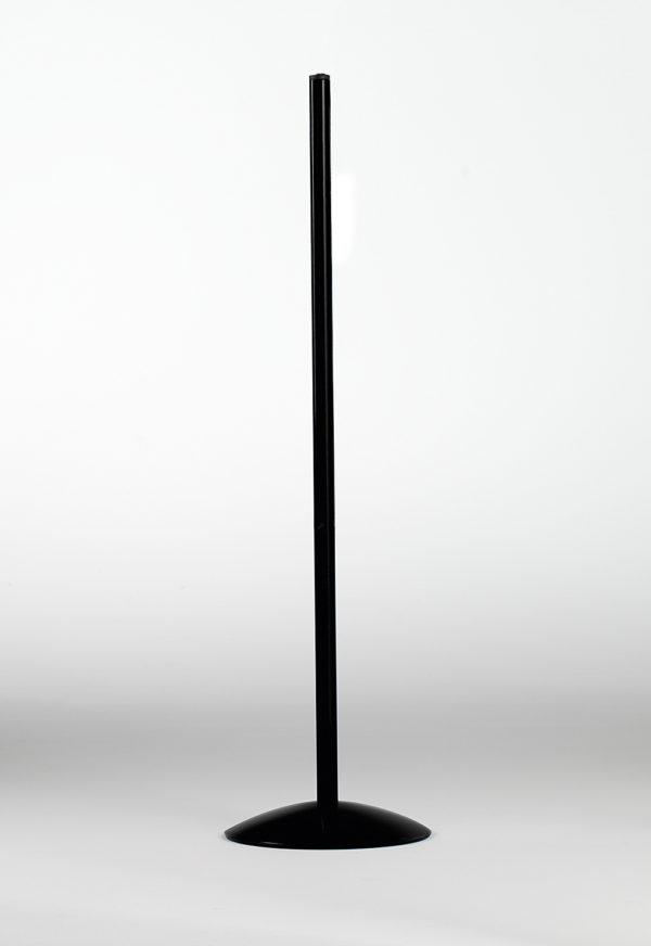 Piedistallo in metallo colore nero per Lampada scrivania 4025