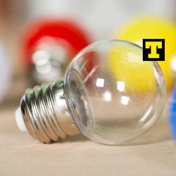 Lampadina led 1w e27 2700k sfera trasparente ip20 for Vendita online lampadine led