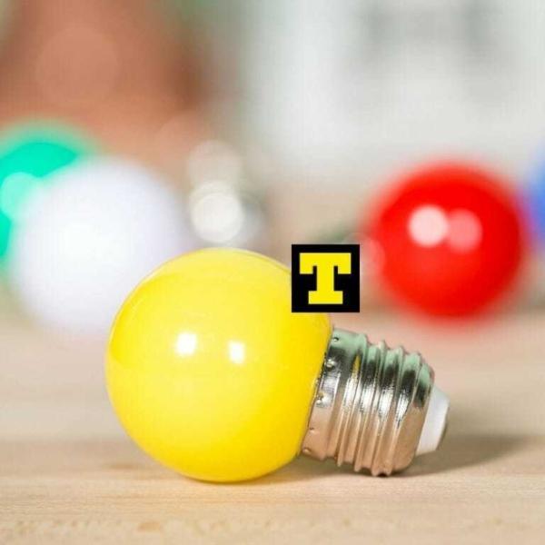 Lampadina led 1w e27 2700k sfera giallo ip20 for Vendita online lampadine led