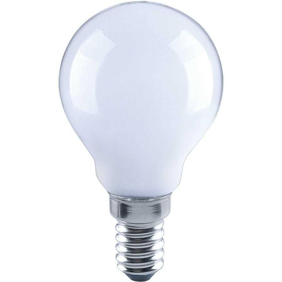 lampadina eco sfera filo led opale 4 watt