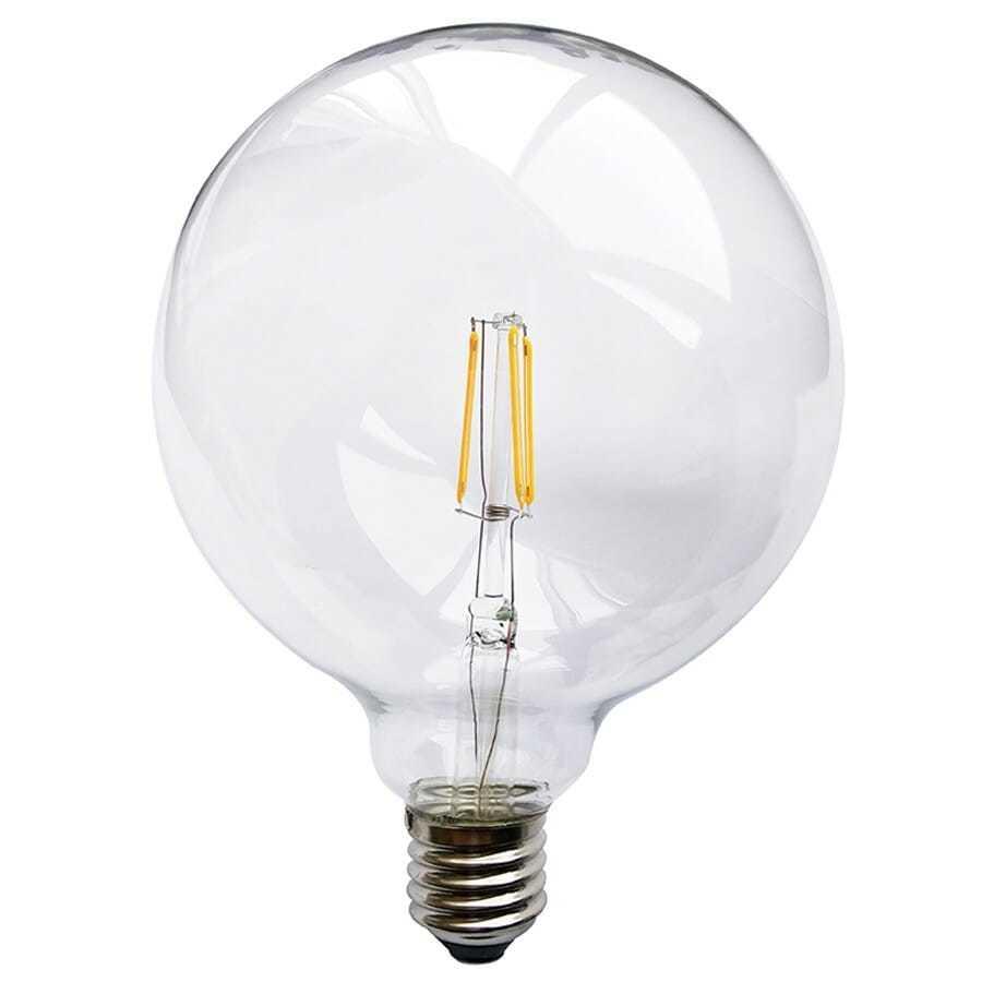 Lampadina eco globo filo led dimmerabile tutto vetro for Costo lampadine led