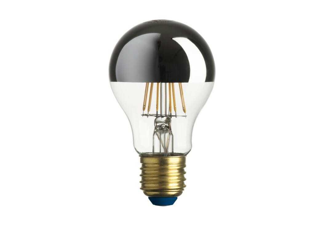 Lampadina led goccia stick 600lm 7 5w e27 ww cupola arg for Costo lampadine led
