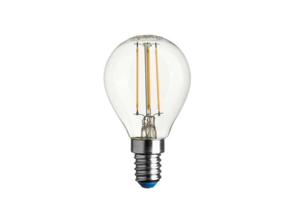 Lampadina led sfera stick 470lm 4 0w e14 dl for Costo lampadine led
