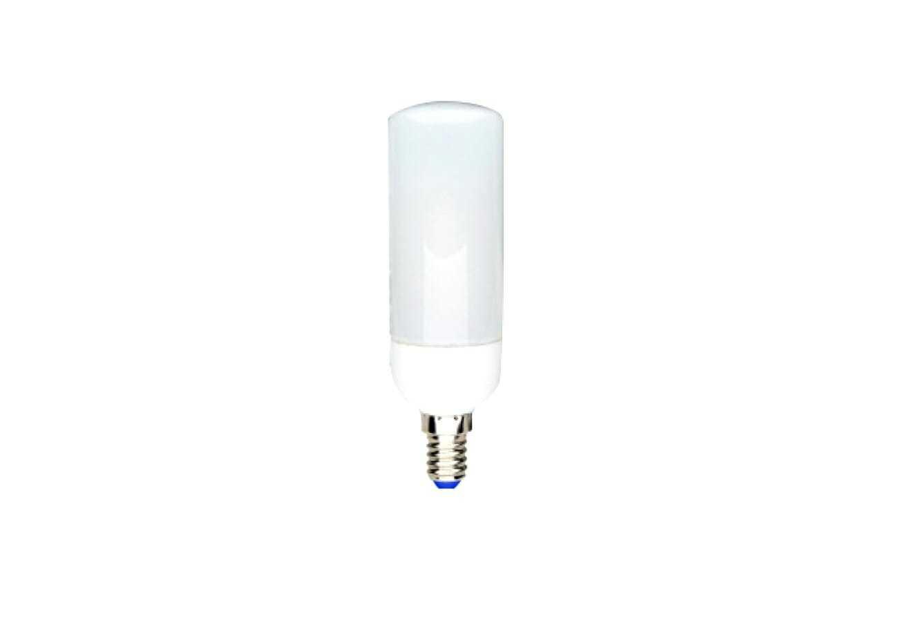 Lampadina led tubolare t37 806lm 7 5w e14 2700k for Lampada tubolare led