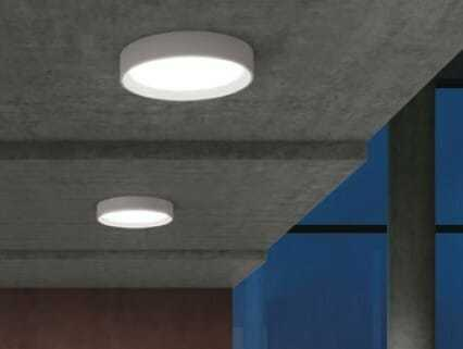 Plafoniera Led Soffitto Rotonda : Tara linealight plafoniera led tonda ip