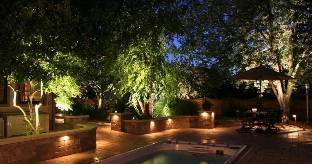 Illuminazione giardino igled su