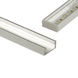 profilo rettangolare stripled alluminio dissipatore