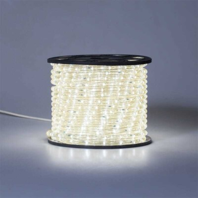 Flexineon LED Orizzontale L.50m  240V AC/DC  IP44 - 2fili ø13mm