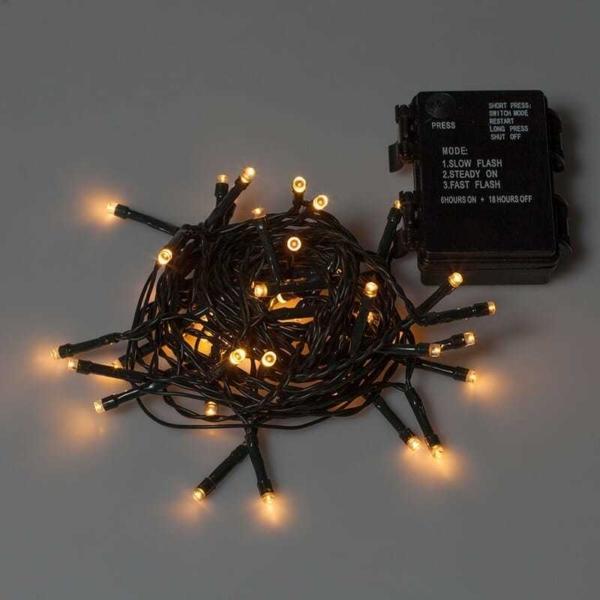 Serie 50 mini LED Batteria L.5m box IP65 - 3x1