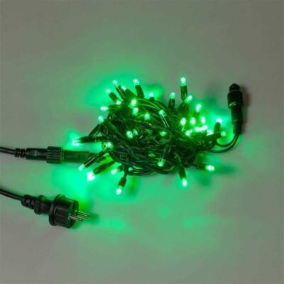Serie 50 LED L.5m  240V AC/DC - 5W  IP44  c.Verde  prolungabile