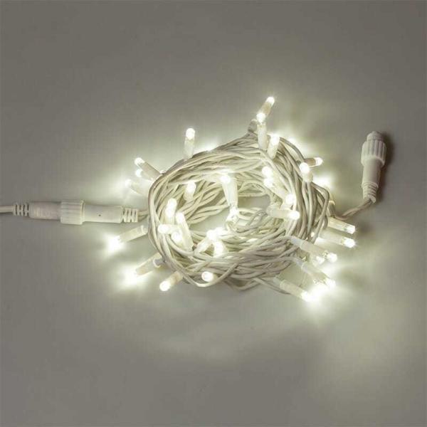 Prolunga 50 LED L.5m  AC/DC - 5W  IP44  c.Bianco