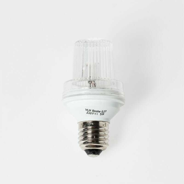 Lampada LED Strobo E27  240V AC - 3W  IP44