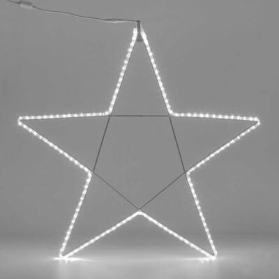 Stella 5 punte H.80 x L.80cm  Flexioneon LED  IP44
