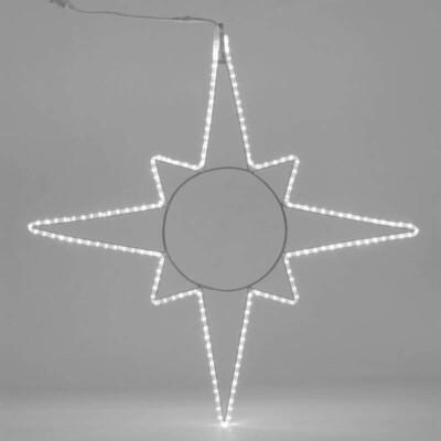 Stella 8 punte H.120 x L.120cm  Flexineon LED IP44