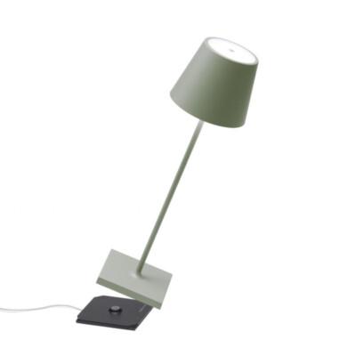 poldina ailati salvia lampada tavolo esterno ricaricabile