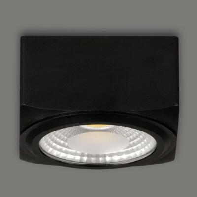 Lampada Atrezzo 3251 12- 12W LED IP20 3200K Black ABC illuminazione Tuttoluce