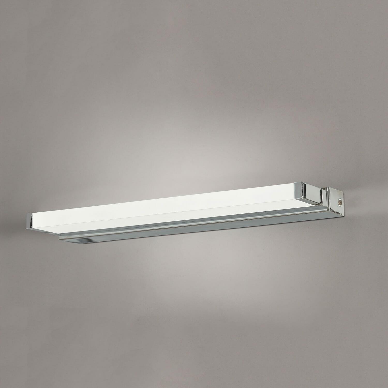 Illuminazione Bagno A Parete applique parete bora 16 3269 40 12w led ip44 4200k chrome