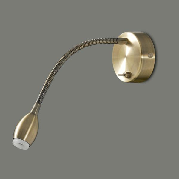 Lampada Fer 16/739 3W LED 3200K Brass ABC illuminazione Tuttoluce