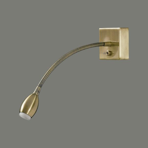 Lampada Flex 16/736 3W LED 3200K Brass ABC illuminazione Tuttoluce