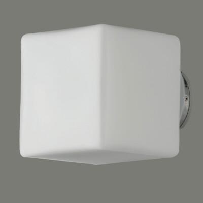 Lampada Geal 16/627 1x3W LED IP44 4200K Opal/Chrome ABC illuminazione Tuttoluce