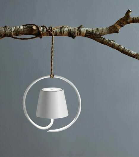 Lampada sospesa bianca poldina dimmer - tuttoluce. Com