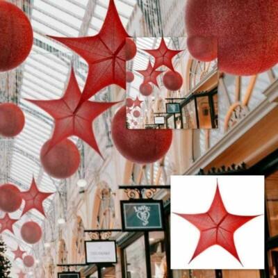 Stella Rossa d In Tessuto Glitterato new lamps
