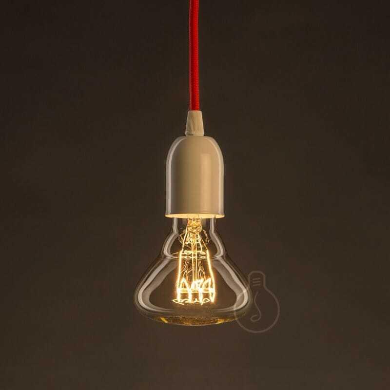 Lampadina carbon e27 br95 vetro ambrato 25 w onda - tuttoluce. Com