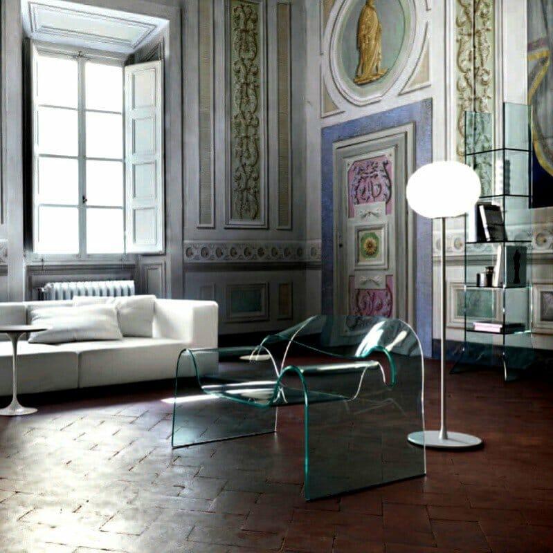 Globall f3 vetro piantana stelo flos - tuttoluce. Com