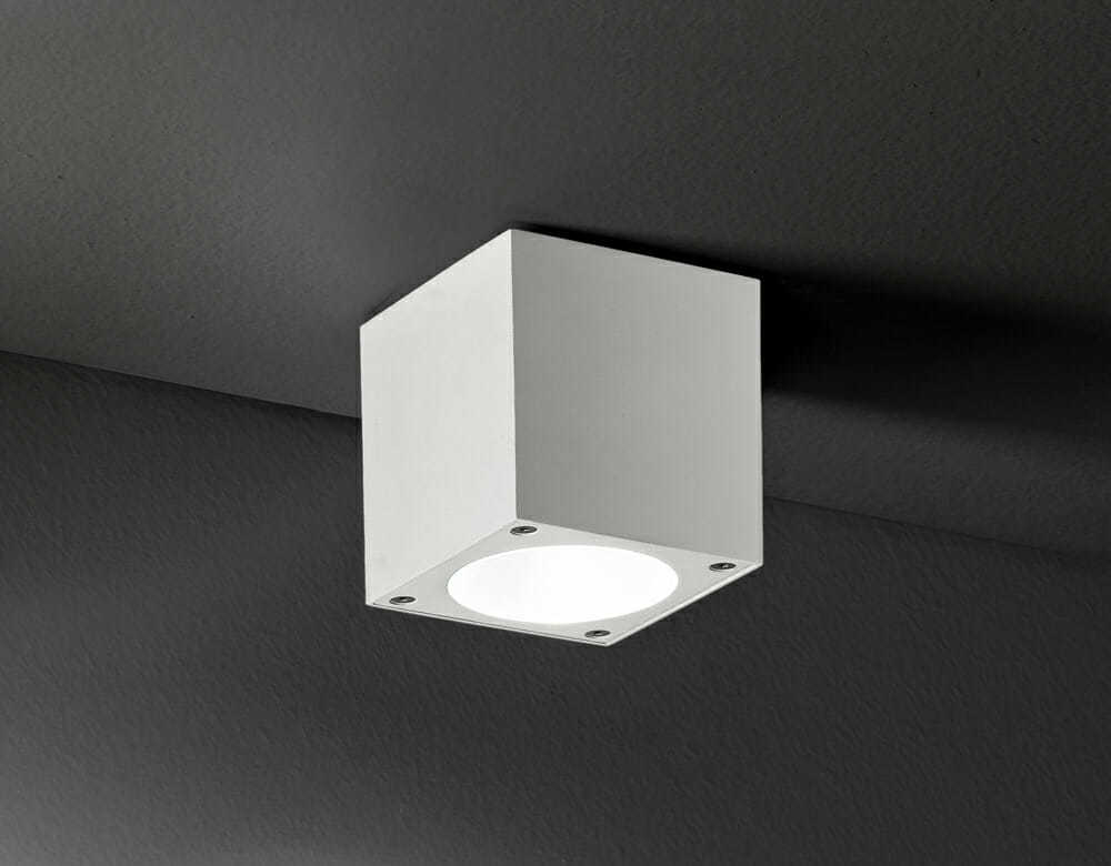 Plafoniere Esterno Soffitto : Plafone soffitto per esterno interno colore bianco b