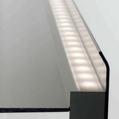 Mensola luminosa led parete