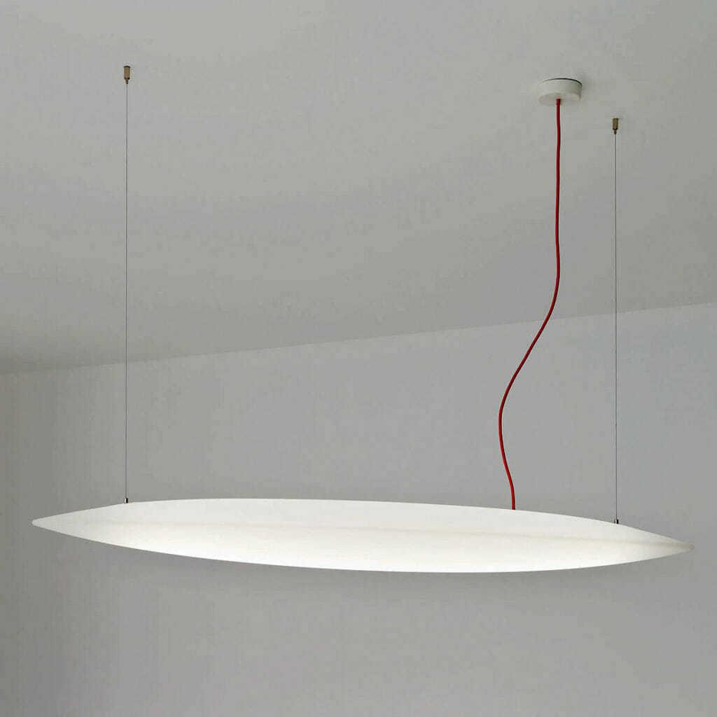 Lampada sospensione luce diffusa design e potente sharp pro for Lampade lunghe a led