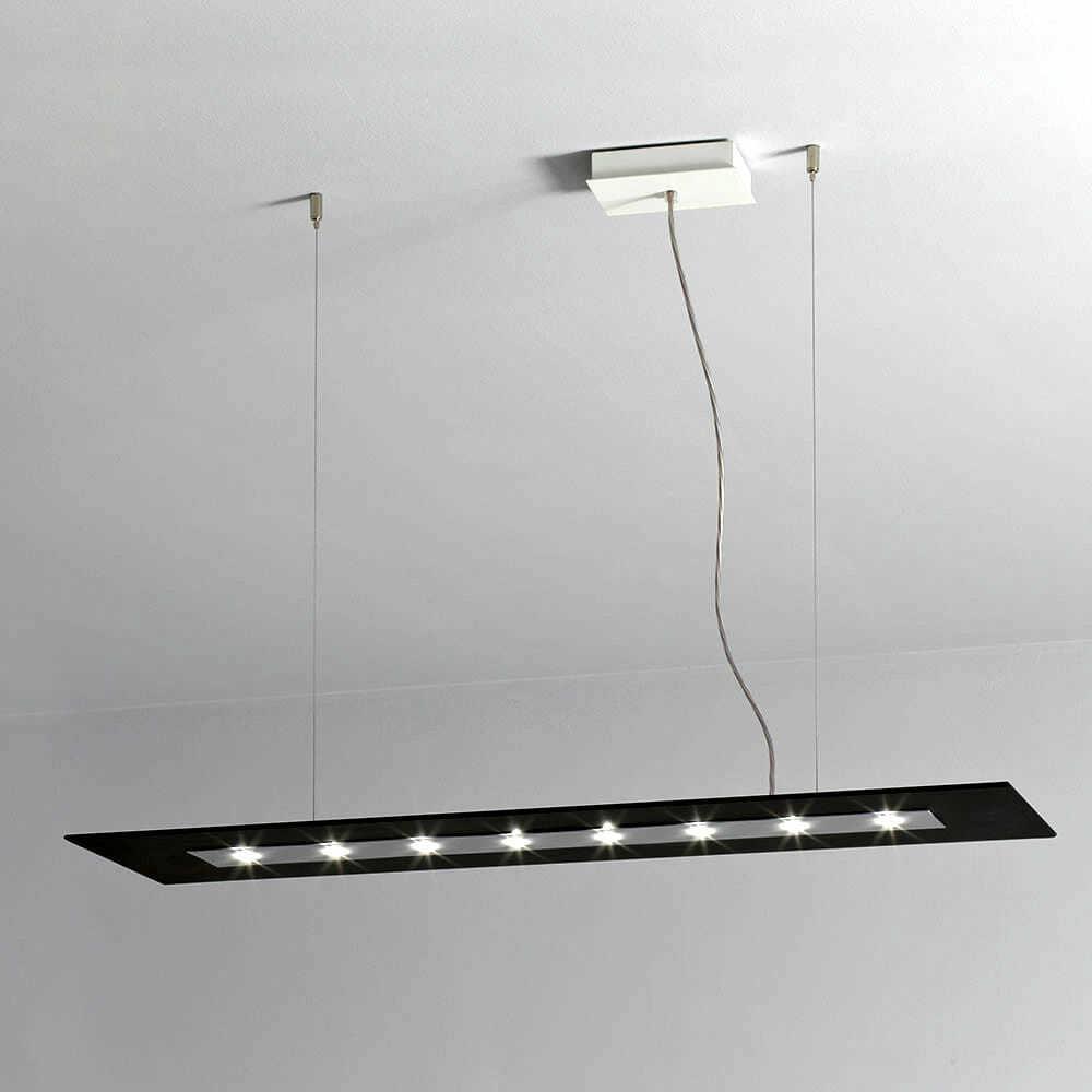 Lampada led sospensione luce diffusa z zero ultrasottile for Illuminazione online