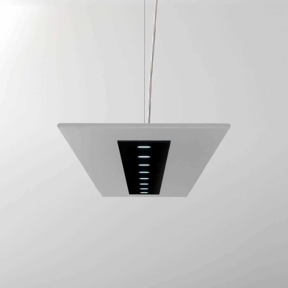 Lampada led sospensione luce diffusa z zero ultrasottile for Lampada led interno