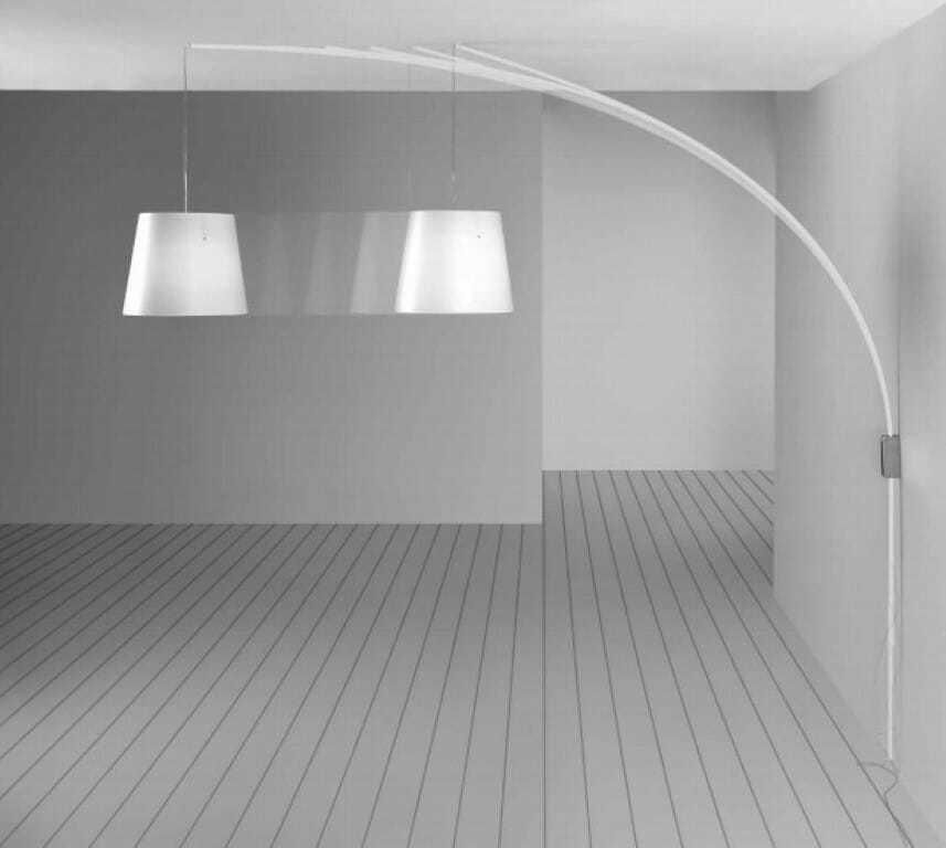Lampada parete cursore sospensione centro stanza senza punto luce soffitto - Lampade design parete ...
