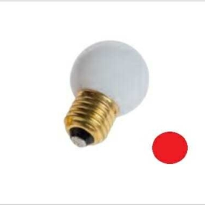 Lampadina led colore rosso 1 watt
