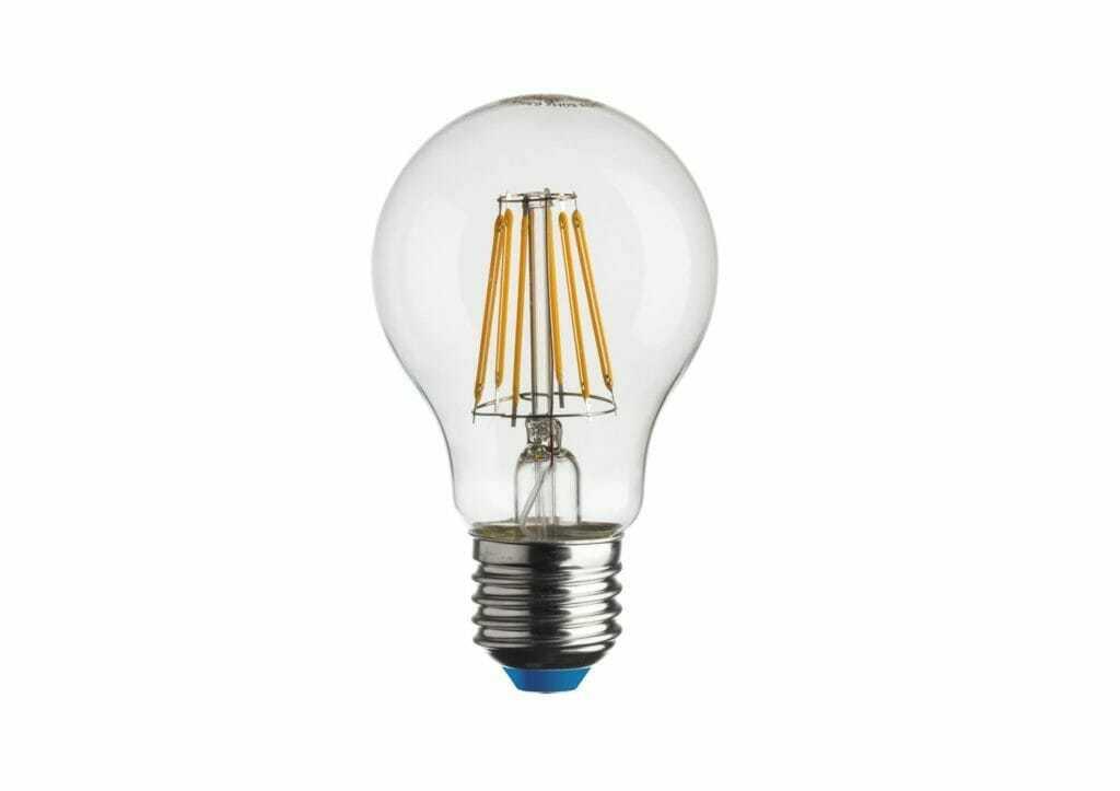 Lampadine led filamento trasparente goccia e27 for Lampadine led on line
