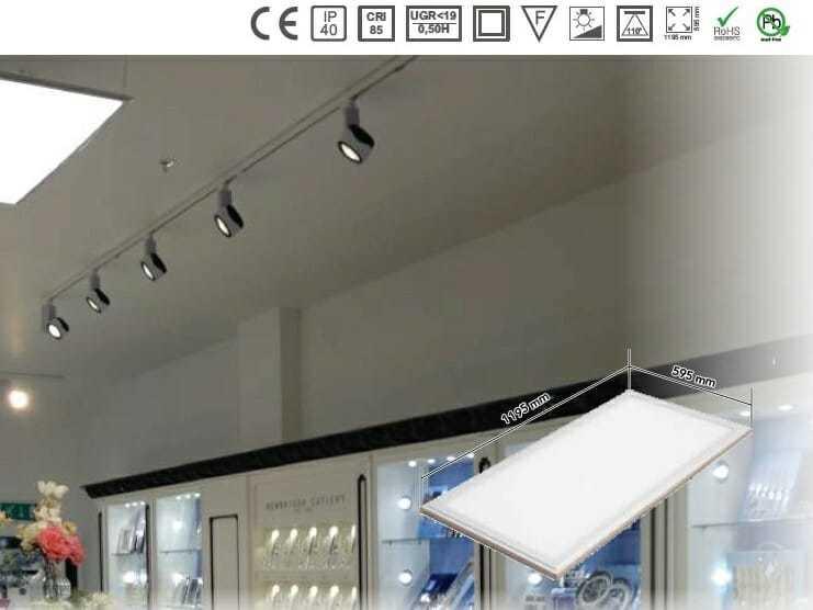 Plafoniere Da Controsoffitto A Led : Pannelli led soffitto incasso cartongesso plafone e sospensione.