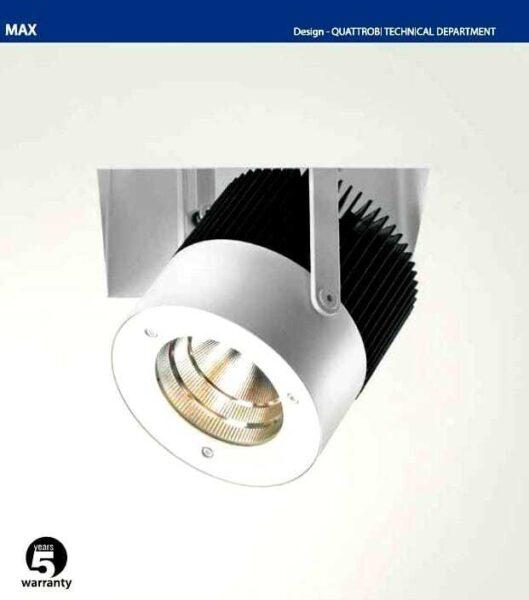 Proiettore per illuminazione led per negozi e attività commerciali